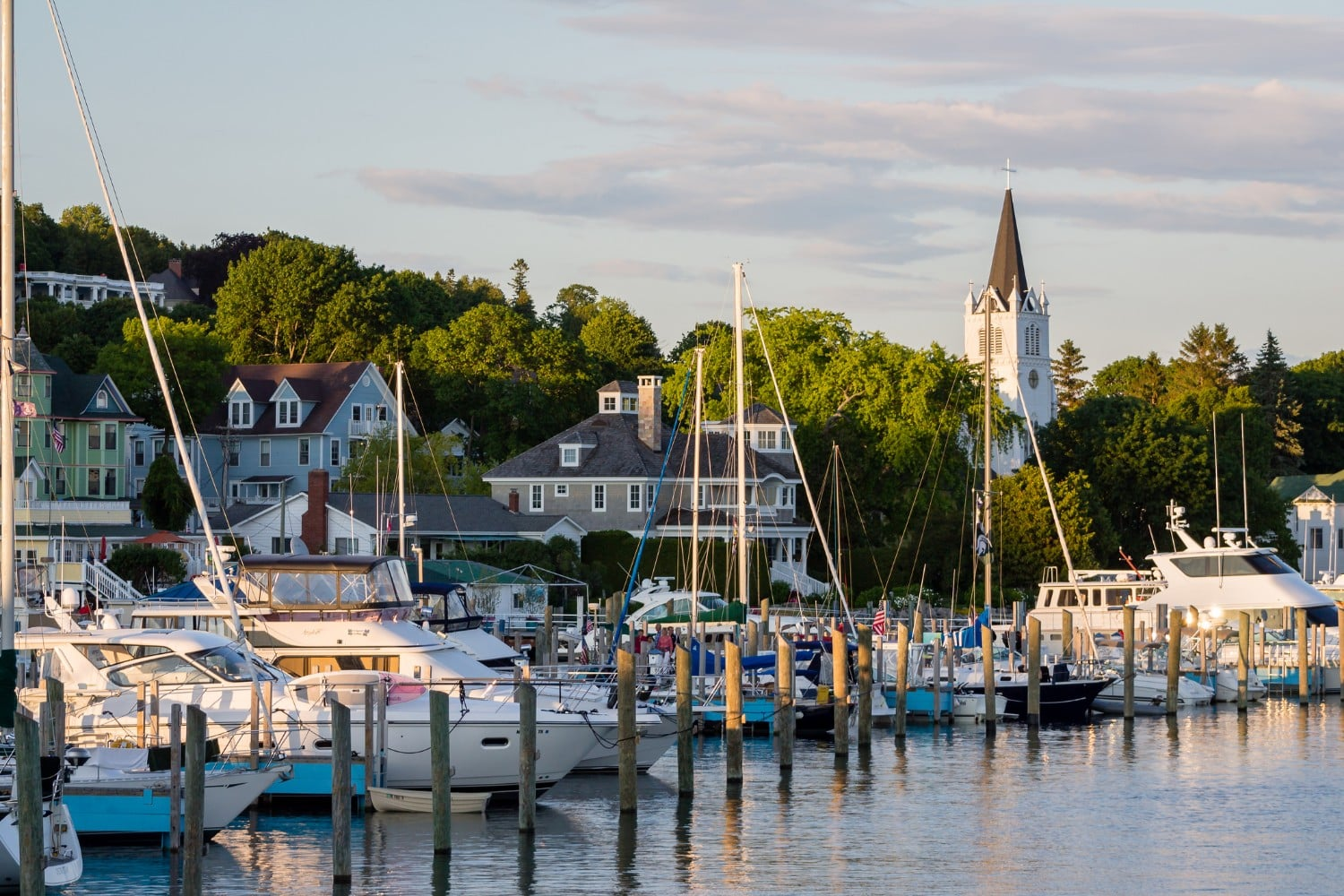 Mackinac Island Harbor