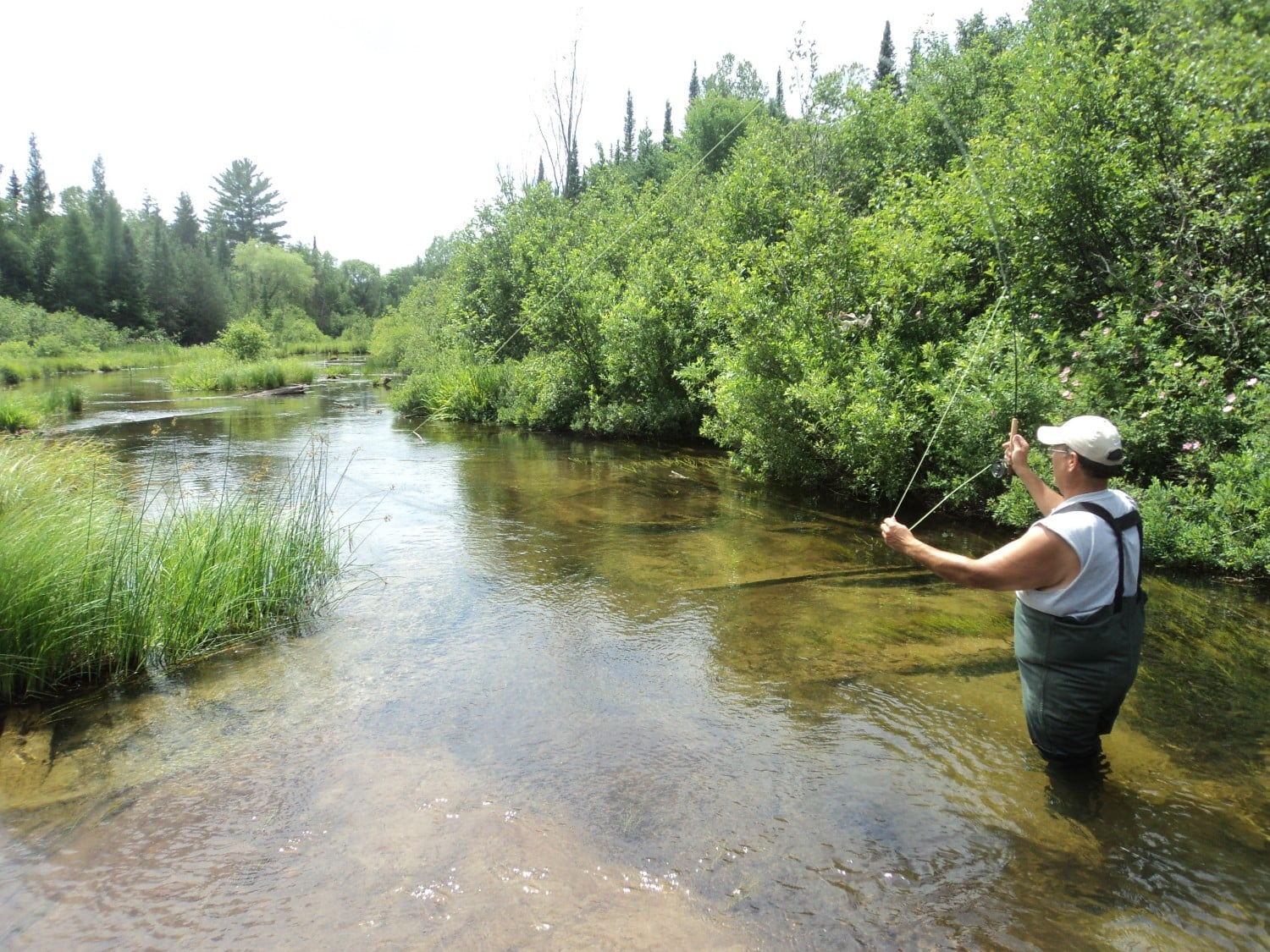 Flyfishing on the Au Sable River