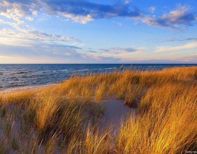 Northern Michigan beach